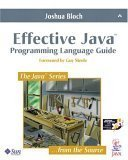 Effective Java Programming Language Guide-cover