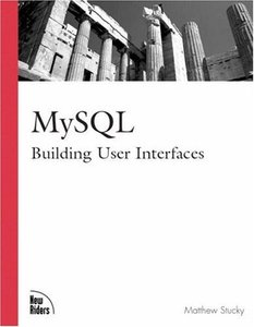 MySQL: Building User Interfaces-cover