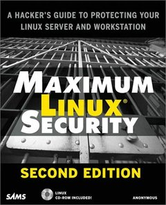 Maximum Linux Security, 2/e (Paperback)-cover