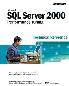 Microsoft SQL Server 2000 Performance Tuning Technical Reference: Technical Refe-cover