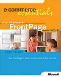 E-Commerce Essentials with Microsoft FrontPage Version 2002-cover