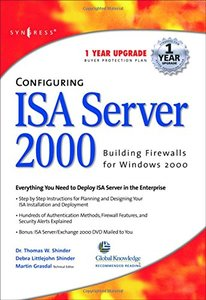 Configuring ISA Server 2000-cover