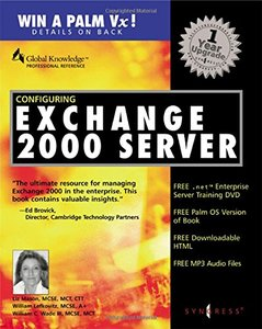 Configuring Exchange 2000 Server-cover