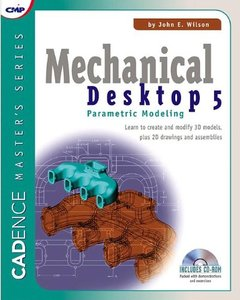 Mechanical Desktop 5: Parametric Modeling-cover