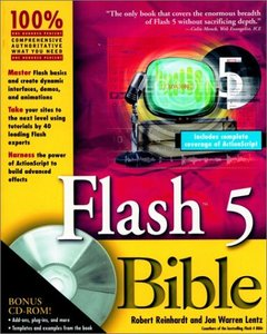 Flash 5 Bible (Paperback)-cover