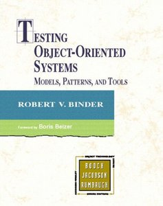 Testing Object-Oriented Systems: Models, Patterns, and Tools-cover