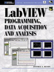 LabVIEW Programming, Data Acquisition and Analysis-cover