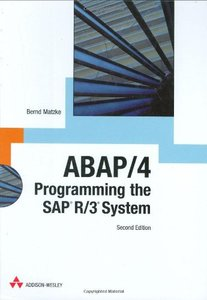 ABAP/4: Programming the SAP R/3 System, 2/e-cover