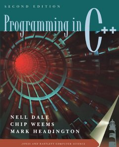 Programming in C++, 2/e-cover