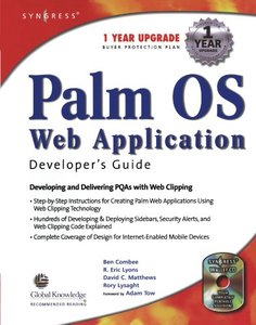 Palm OS Web Application Developer's Guide-cover