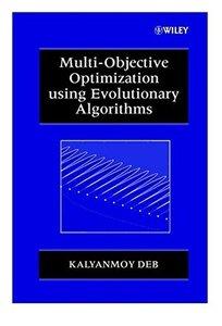 Multi-Objective Optimization Using Evolutionary Algorithms-cover