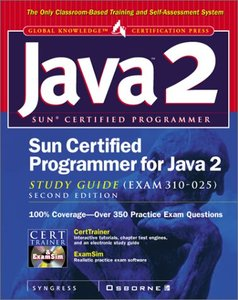 Sun Certified Programmer for Java 2 Study Guide, 2/e (Exam 310-025)-cover