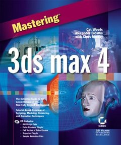 Mastering 3ds max 4-cover