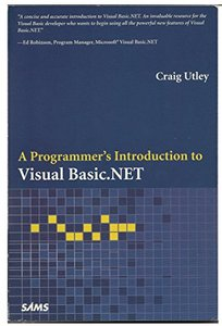A Programmer's Introduction to Visual Basic.NET-cover
