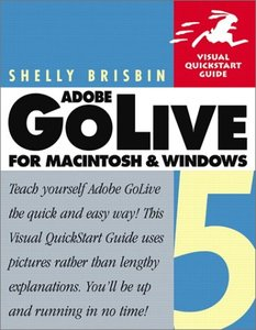 Adobe GoLive 5 for Macintosh and Windows Visual Quickstart Guide-cover