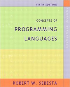 Concepts of Programming Languages, 5/e (精裝)-cover
