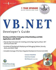 VB.Net Developer's Guide (Paperback)-cover
