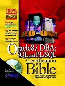 Oracle8i DBA: SQL and PL/SQL Certification Bible-cover