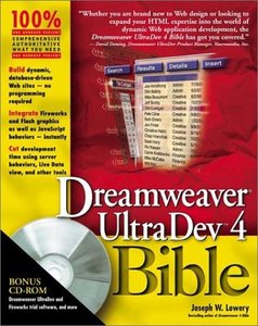 Dreamweaver UltraDev 4 Bible (Paperback)-cover