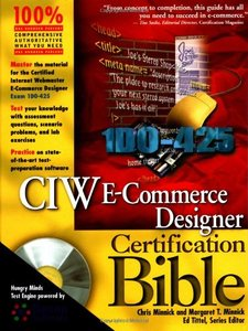 CIW E-Commerce Designer Certification Bible (Hardcover)-cover