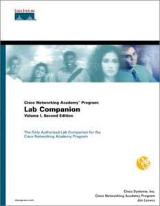 Cisco Networking Academy Program: Lab Companion, Volume I, 2/e (Paperback)-cover