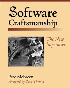 Software Craftsmanship: The New Imperative (Paperback)-cover