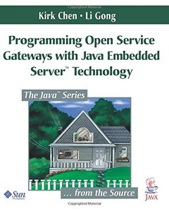 Programming Open Service Gateways with Java Embedded Server Technology (Paperback)-cover