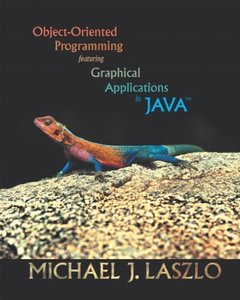 Object-Oriented Programming featuring Graphical Applications in Java (Paperback)-cover