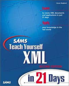 Sams Teach Yourself XML in 21 Days, 2/e (Paperback)-cover