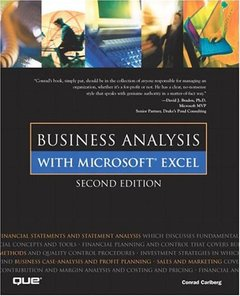 Business Analysis with Microsoft Excel, 2/e-cover