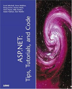 ASP.NET : Tips, Tutorials and Code (Paperback)-cover