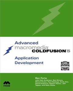 Advanced Macromedia ColdFusion 5 Application Development, 2/e (Paperback)-cover