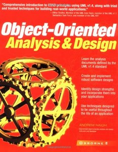 Object-Oriented Analysis and Design (Paperback)-cover