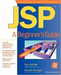 JSP: A Beginner's Guide-cover