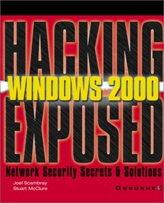 Hacking Exposed: Windows 2000 (Paperback)-cover