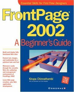 FrontPage A Beginner's Guide
