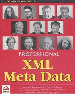 Professional XML Meta Data-cover