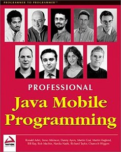 Professional Java Mobile Programming-cover