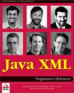 Java XML Programmer's Reference-cover