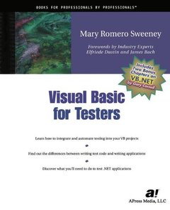 Visual Basic for Testers-cover