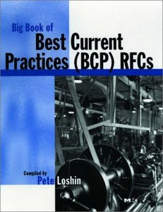 Big Book of Best Current Practices RFCs-cover