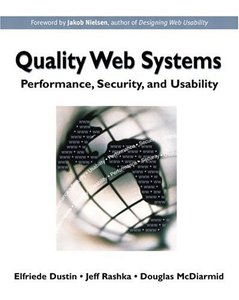 Quality Web Systems: Performance, Security, and Usability-cover