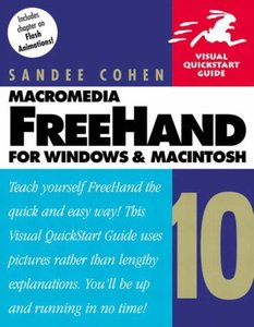 Macromedia FreeHand 10 for Windows and Macintosh: Visual QuickStart Guide-cover