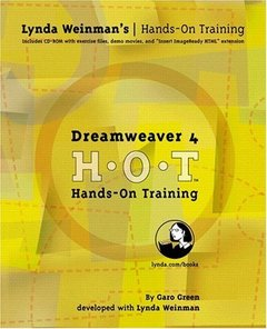 Dreamweaver 4 Hands-On Training-cover