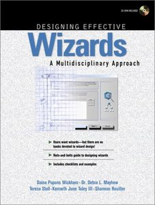 Designing Effective Wizards: A Multidisciplinary Approach-cover