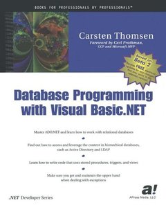 Database Programming with Visual Basic.NET-cover
