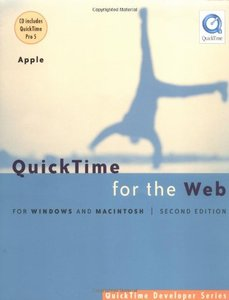 QuickTime for the Web: For Windows and Macintosh, 2/e (Paperback)-cover