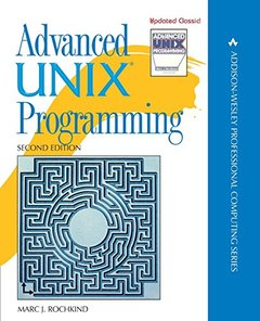 Advanced UNIX Programming, 2/e (Paperback)-cover
