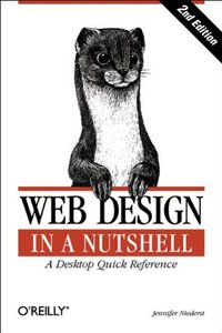 Web Design in a Nutshell, 2/e (Paperback)-cover