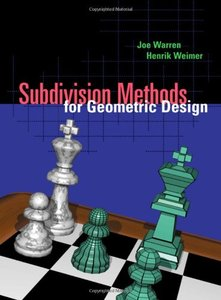 Subdivision Methods for Geometric Design: A Constructive Approach-cover